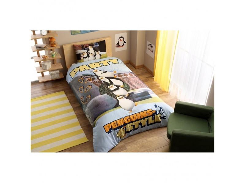 TAC детски спален комплект Penguins party