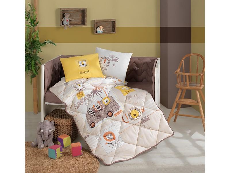 Бебешки комплект със завивка Lion