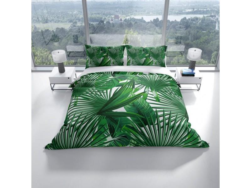 Спален комплект 3D от памучен сатен PALM