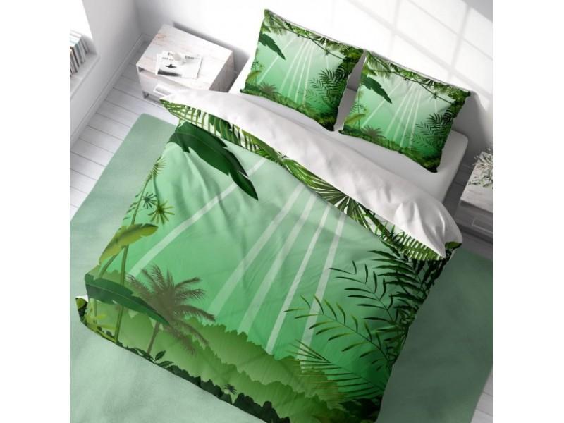 Спален комплект 3D от памучен сатен SUMMER