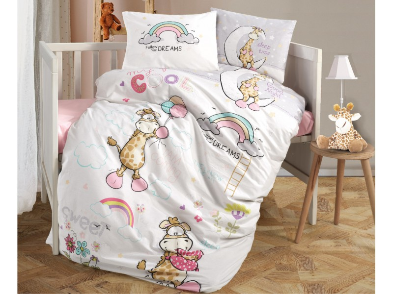 Бебешко спално бельо от памук SLEEP TIME