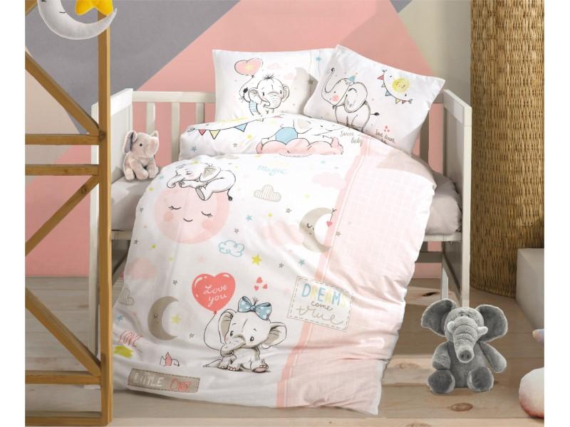 Бебешко спално бельо от памук SWEET DREAMS