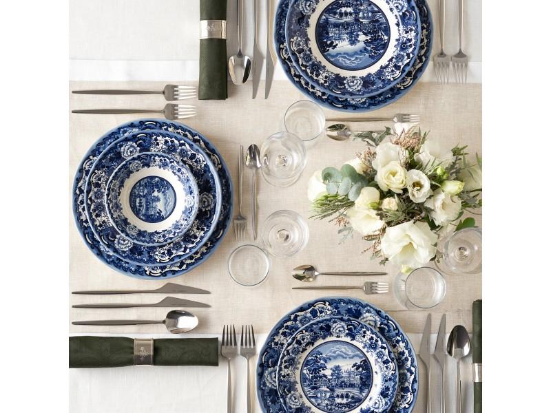 Сервиз за хранене 24 части керамика BLUE ODYSSEUS