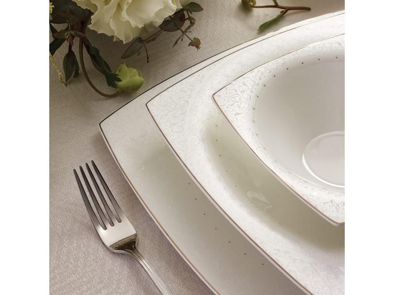 Сервиз за хранене порцелан FINE PEARL BELLA- 62 части