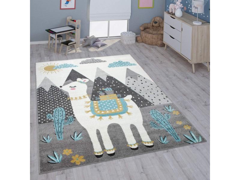 Детски релефен килим 160 х 220 см. ЛАМА
