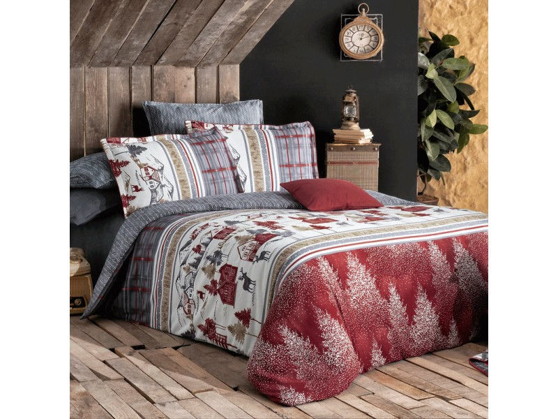 Двоен спален комплект от поплин IMATRA