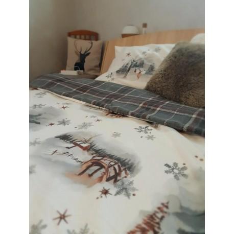 Двоен спален комплект от поплин GENRE