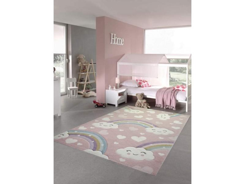 Килим за детска стая 160х230 см. RAINBOW релефен