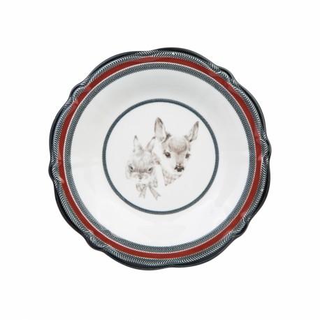Сервиз за хранене от керамика 24 части Winter shine
