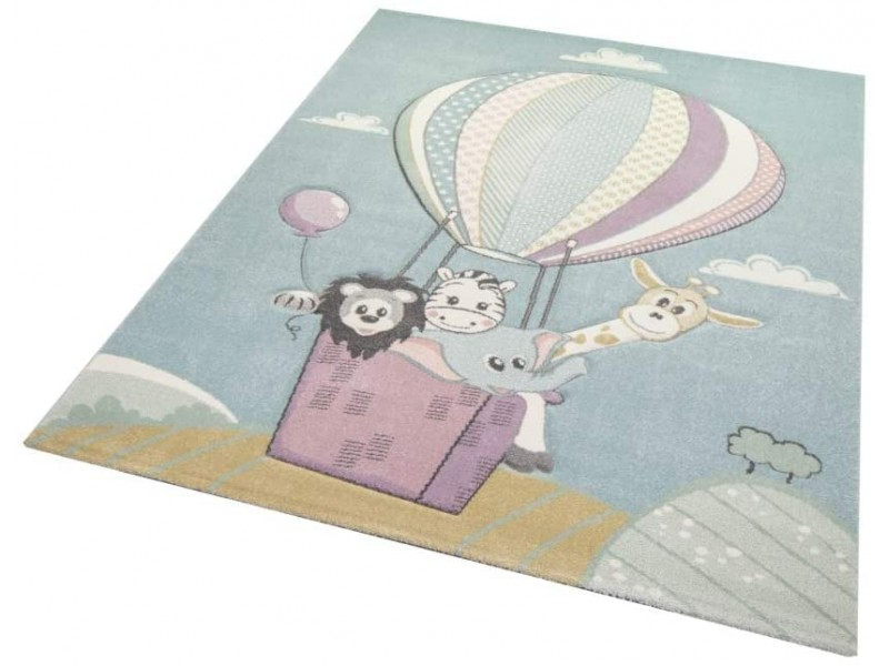 Килим за детска стая 160х230 см. Hot Air Balloon