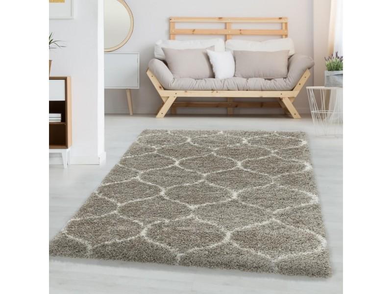 Шаги килим, Winter 160х230 см. , бежов фон