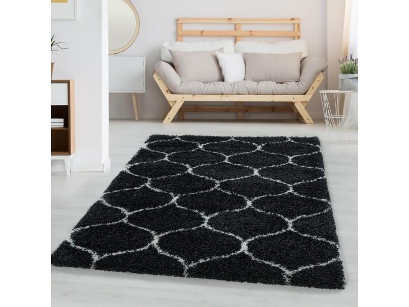 Шаги килим, Winter 160х230 см. , черен фон