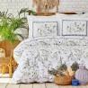 Двоен спален комплект от ранфорс Calantha лила