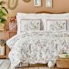 Двоен спален комплект от ранфорс Calantha розово