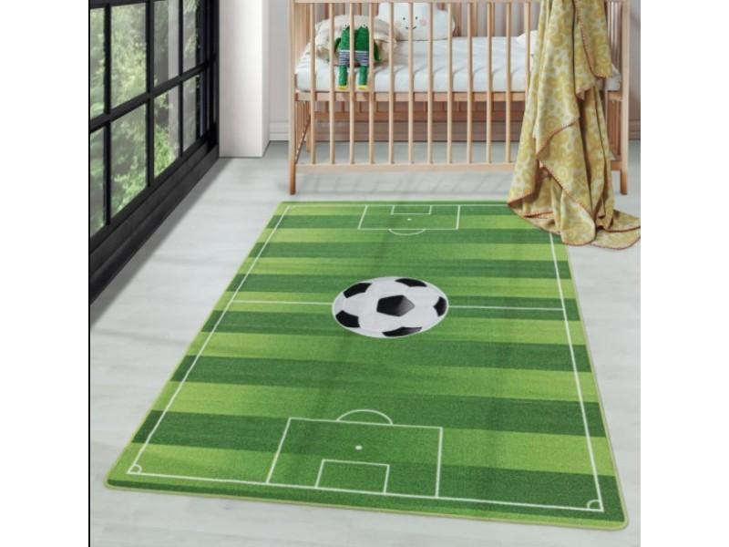 Детски мокетен килим за игри - 160х230 см. ФУТБОЛ