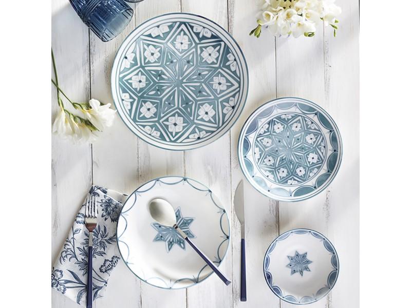 Сервиз за хранене керамика 24 части Marianna