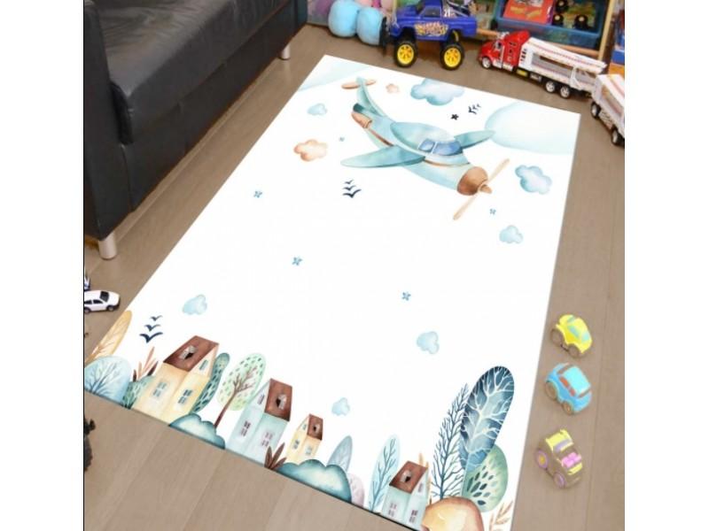 Комплект килим + 2 броя пердета САМОЛЕТЧЕ