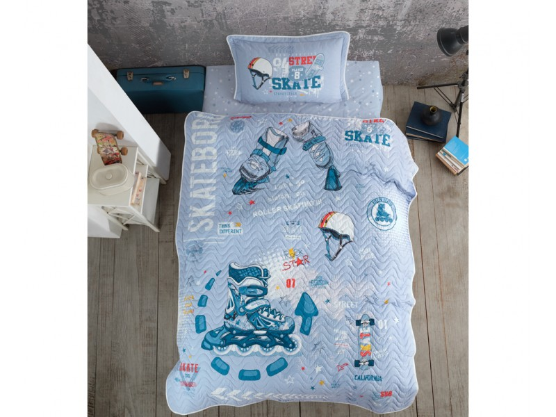 Комплект за детско легло с калъфка Skyland