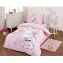 Детски спален комплект Unicorn pink