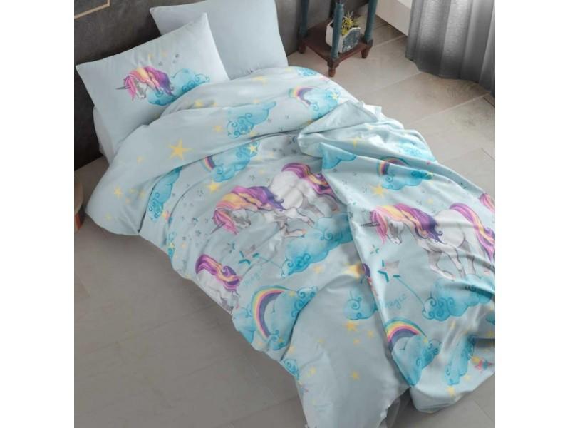Детски спален комплект Unicorn mint
