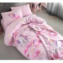 Детски спален комплект Unicorn розов