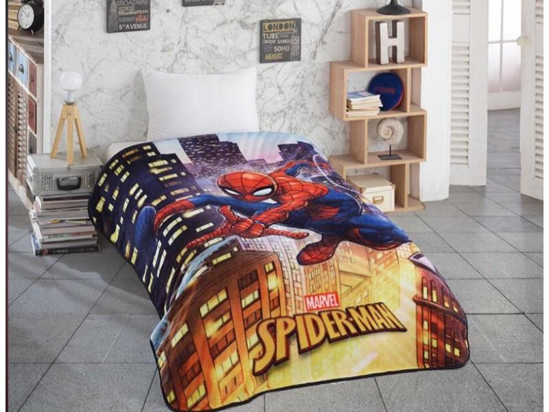 SPIDERMAN детско одеяло 150 х 220 см.