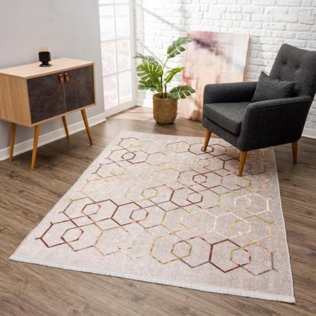 Релефен килим 160 х 230 см. Vinosa бежово