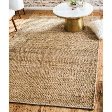 Юта килим ръчно плетен 160х240 см. натурален