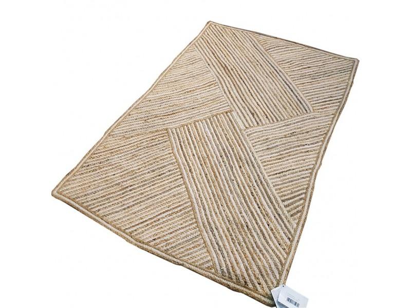Юта килим ръчно плетен 170х240 см. трицветен