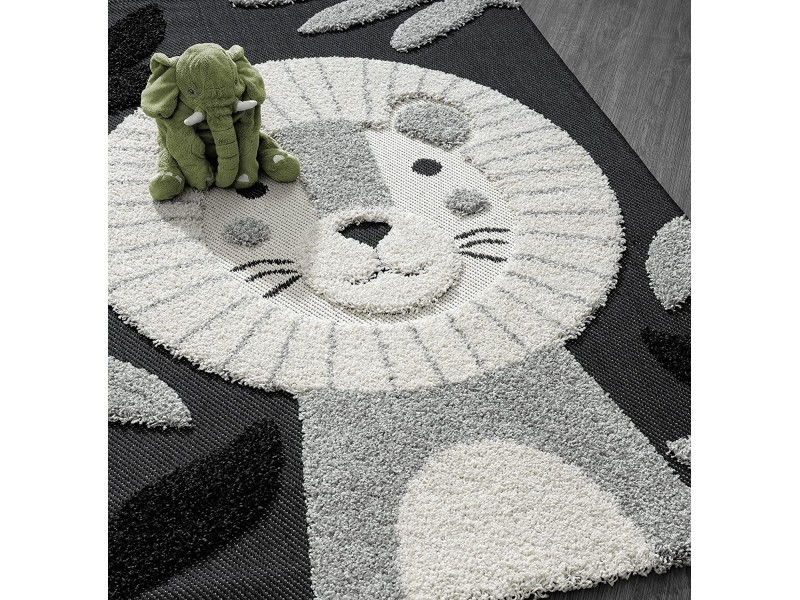 Скандинавски стил, релефен килим за детска стая ЛЪВЧЕ