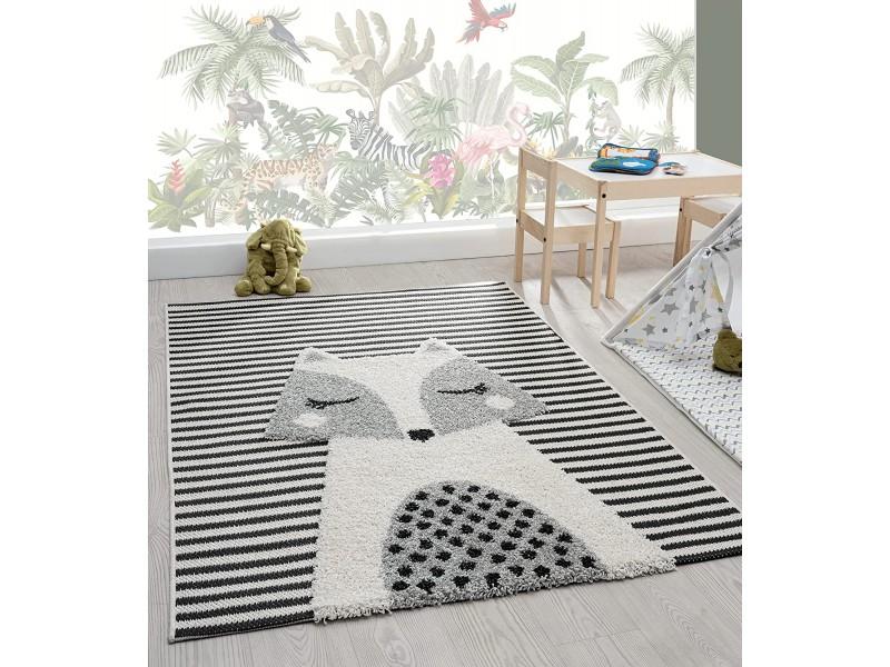 Скандинавски стил, релефен килим за детска стая ЛИСИЦА