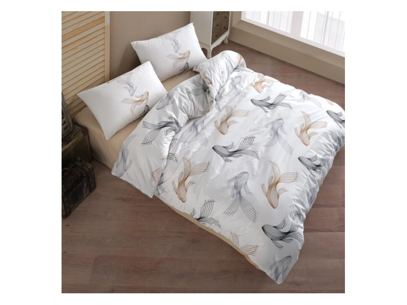 Двоен спален комплект от ранфорс Barbella