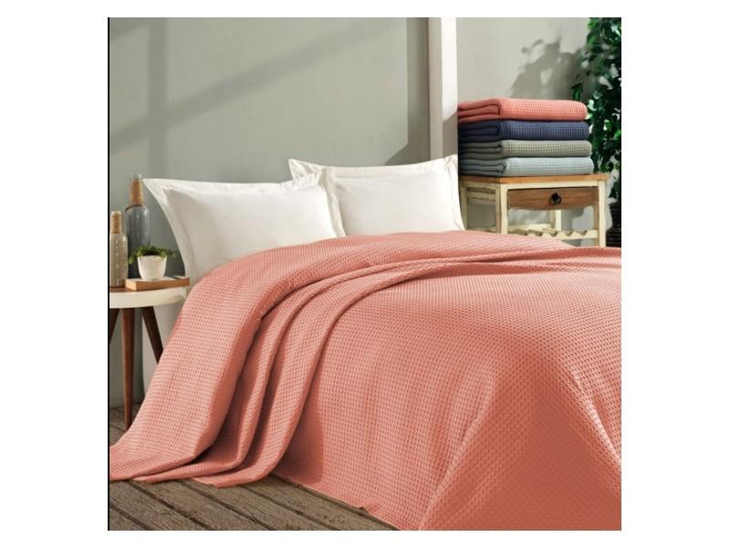 Покривало за легло ПИКЕ 160х260 см. от памук - НАР