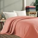 Покривало за легло ПИКЕ 160х260 см. от памук - КОРАЛОВО