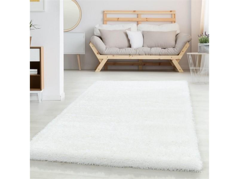 Шаги килим, 160х230 см. БЯЛ