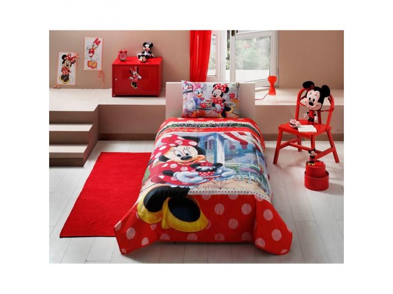TAC Покривка за детско легло MINNIE