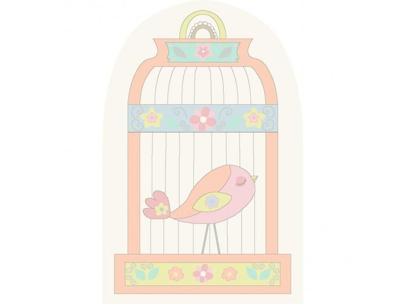 Бебешки килим 100 x150 - Bird cage