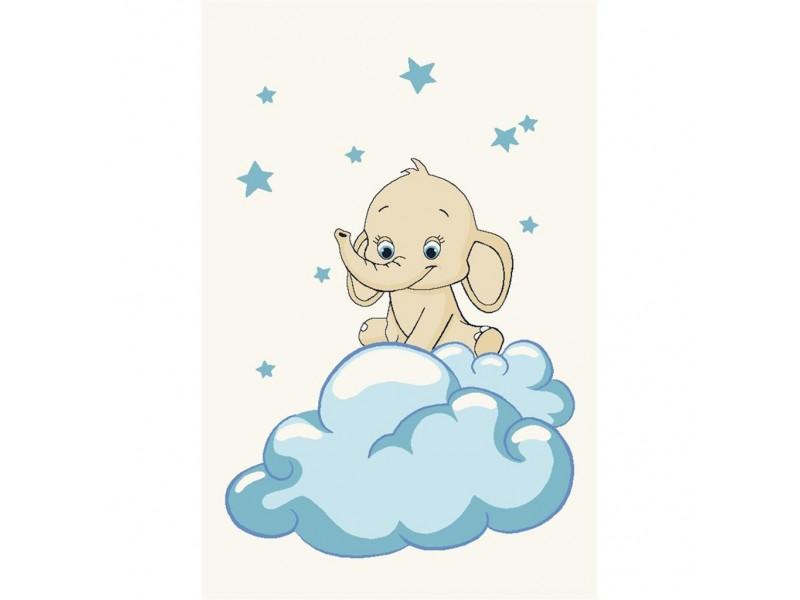 Бебешки килим 100 x150 -Слонче