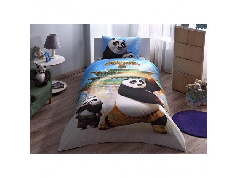 TAC детски спален комплект Kung Fu Panda