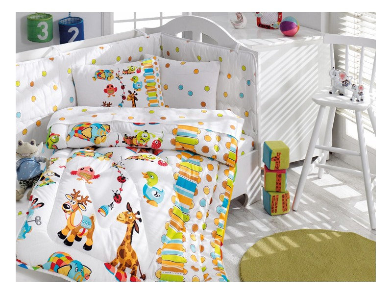 Бебешки комплект със завивка Playground