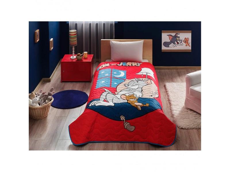 TAC Покривка за детско легло Tom & Jerry