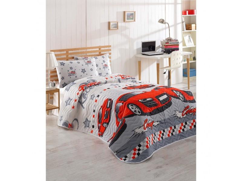 Покривка за легло с 1 калъфка - ФЕРАРИ