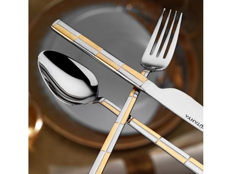 Луксозни прибори за хранене за 12 човека GOLD