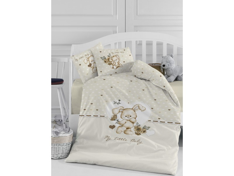 Бебешки спален комплект Little Baby бежово