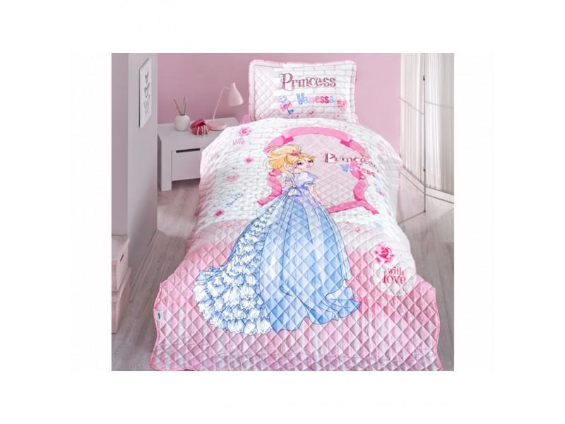 Покривка за детско легло с калъфка Vanessa