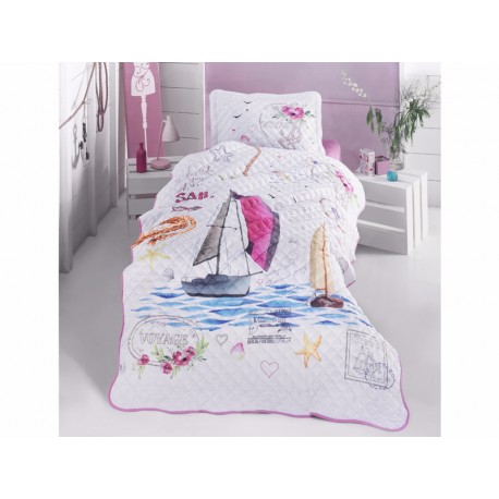 Покривка за детско легло с калъфка Voyage