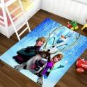 Детски килими 3D принт, 140х200 см. Замръзналото Кралство