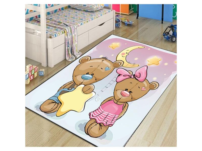 Детски килими 3D принт, 133х190 см. Съни