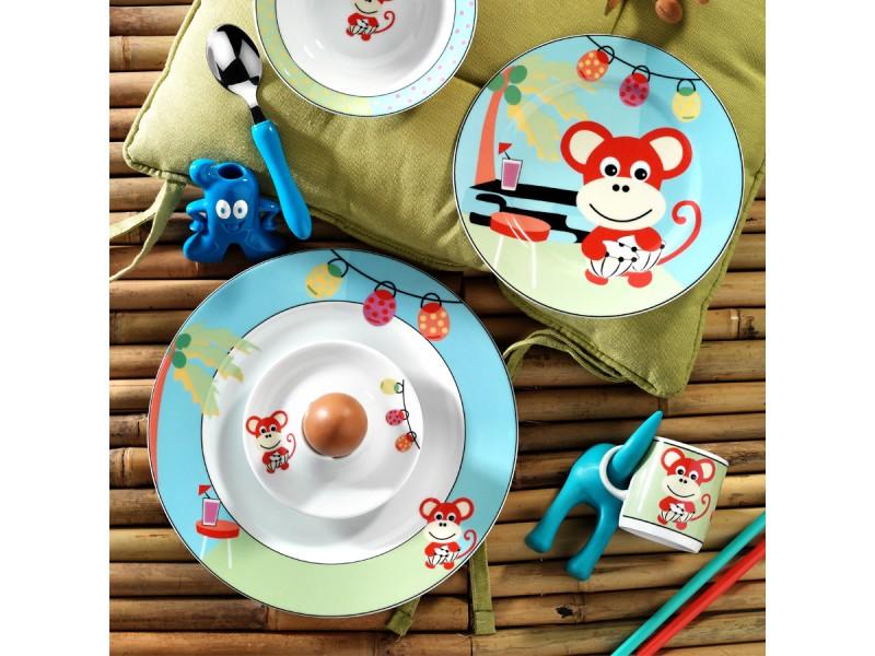 Детски сервиз за хранене от 5 части МONKEY