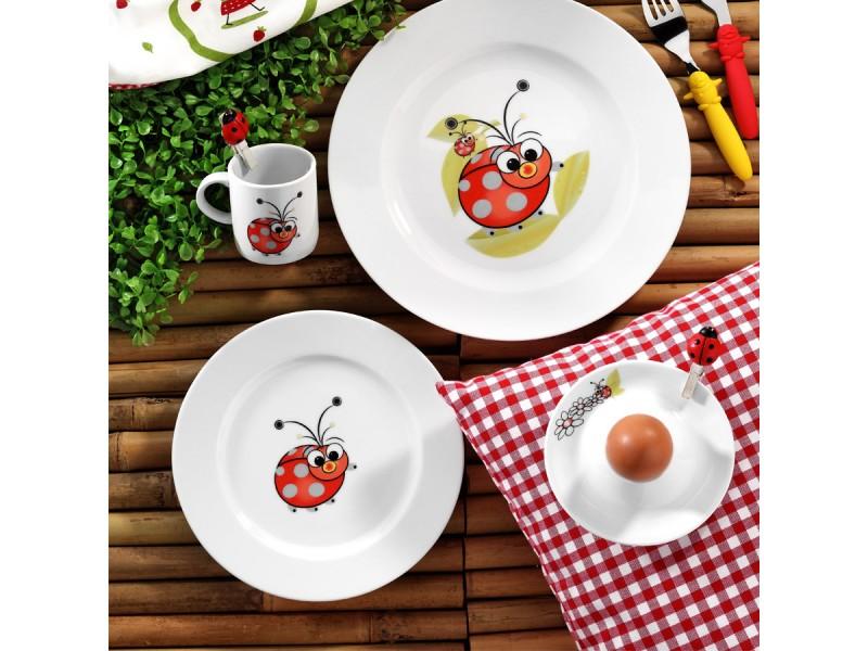 Детски сервиз за хранене от 5 части Ladybird
